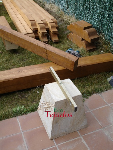 proceso de construccin de un porche en un adosado peralta navarra