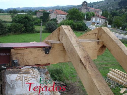 Conozca la variedad de trabajos - Estructuras de madera para tejados ...