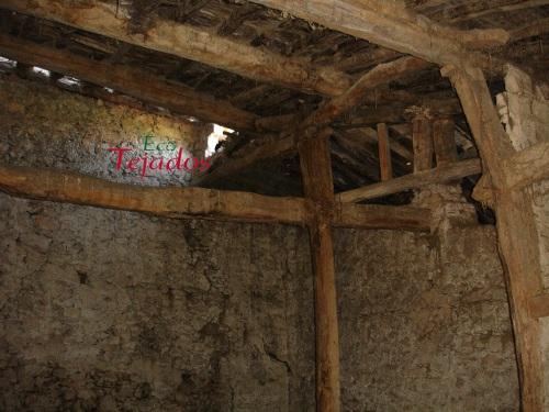 tejado de madera obras de construccin del nuevo edificio